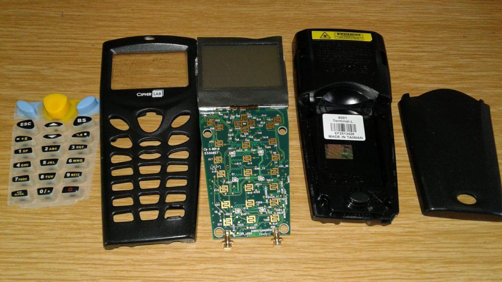 Cipherlab 8001 инструкция