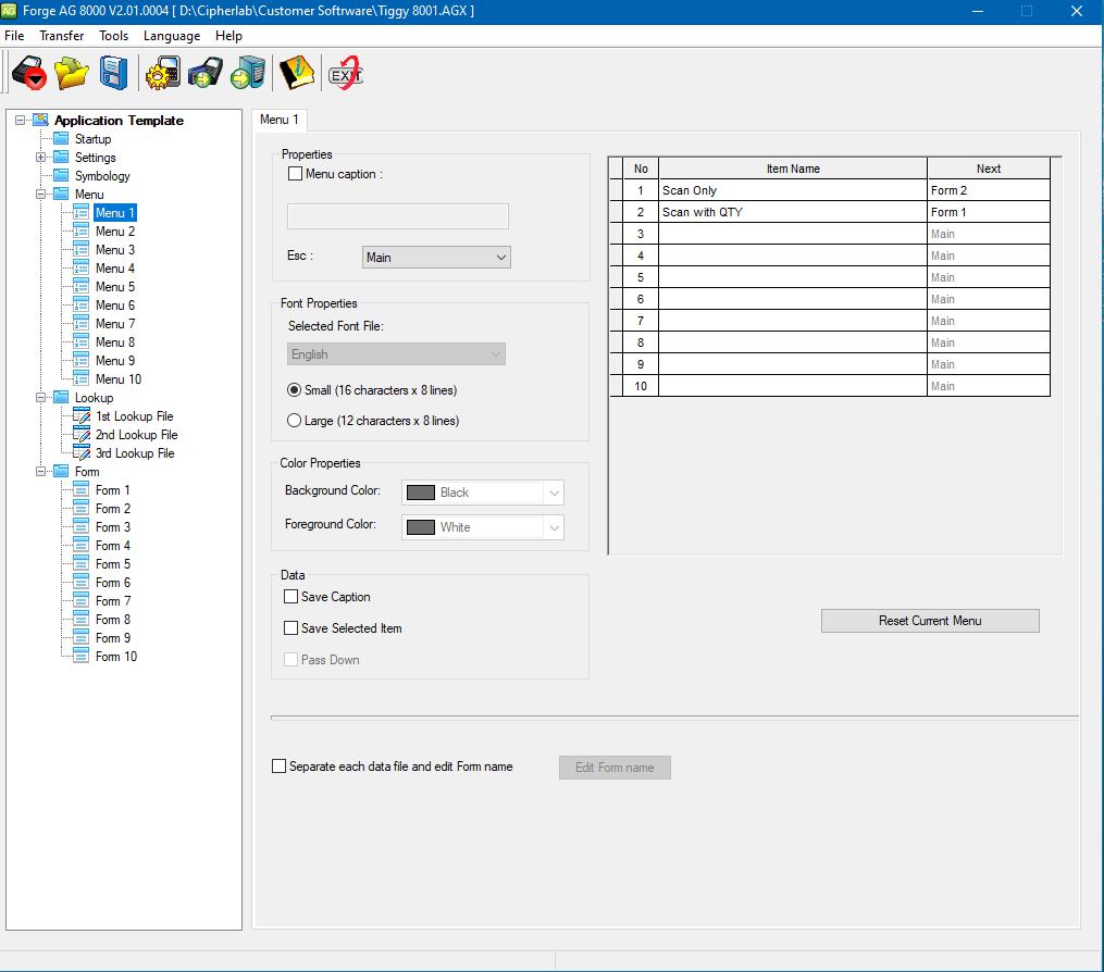 Forge Batch Application Generator