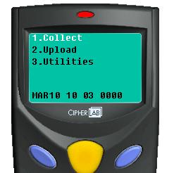 Cipherlab 8001 Erasing memory